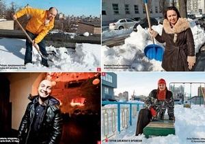 Герои снежного времени. Киевляне, которые помогли ближним справиться со  стихией