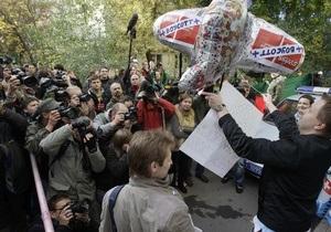 СМИ: В России прошел первый разрешенный властями пикет гей-движения