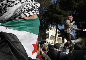 Полицейского насмерть забили камнями во время демонстрации в Сирии