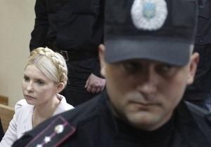 Защита Тимошенко подала ходатайства о вызове новых свидетелей