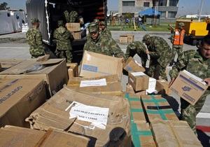 Аэропорт в столице Гаити перегружен из-за потока самолетов с гуманитарной помощью