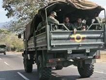 Венесуэла стягивает войска к границе с Колумбией