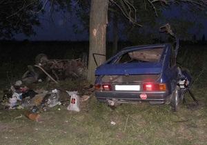 Жертвами ДТП на Волыни стали трое человек