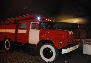 В Украине за минувшие сутки произошло 254 пожара