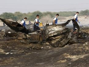 Упавший в ОАЭ Boeing-707 сгорел дотла