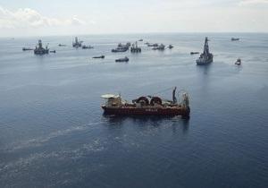 ВР приступила к цементированию скважины в Мексиканском заливе