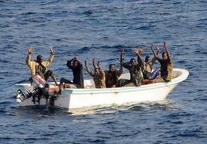 Американские морские пехотинцы освободили захваченный пиратами танкер