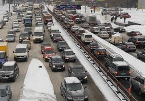 Киевавтодор планирует отремонтировать столичные дороги до мая