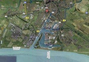 Google Maps перенес в Голландию часть Германии
