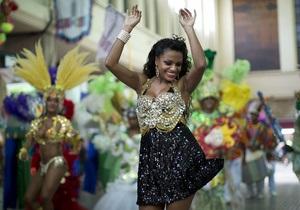 Бразилия - карнавал начинается