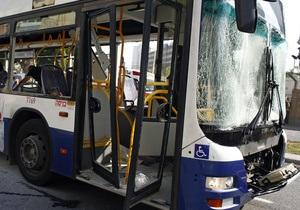 Фотогалерея: Теракт на фоне войны. Взрыв автобуса в Тель-Авиве