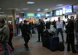 Аэропорт Борисполь возобновил работу