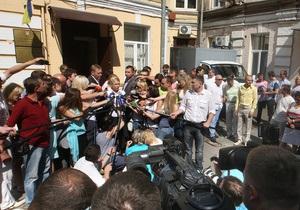 Суд по делу Тимошенко отказался возобновлять прямую телетрансляцию