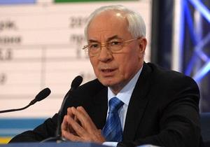 Азаров надеется ускорить темпы возмещения НДС, добившись роста ВВП в 5%