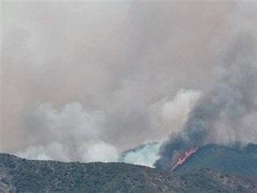 В Калифорнии не утихают лесные пожары