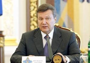 Янукович вернул в Раду законопроект относительно городского электротранспорта