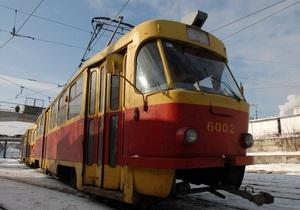 В Харькове четвертый день не ходят трамваи и троллейбусы