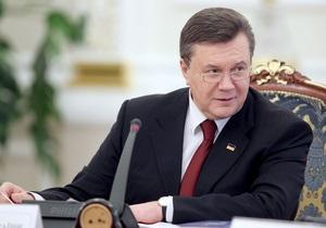 Янукович заявил, что власти ликвидировали 12 тыс. предприятий, которые предоставляли админуслуги
