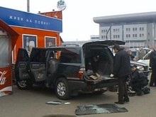 Стрельба на киевском вокзале: из джипа украли миллион