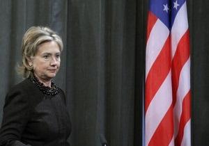 Клинтон: США обсудят с РФ сирийскую проблему при условии отставки Асада