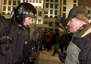 Во время беспорядков в Минске был задержан гражданин Украины
