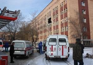 Увеличилось число жертв взрыва в луганской больнице. Под завалами остаются люди