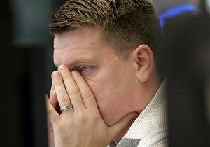 Украинский фондовый рынок пережил шквал продаж