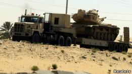 В результате спецоперации армии Египта убиты 32 боевика