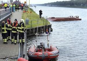 В пригороде Амстердама столкнулись паром и сухогруз: один человек погиб