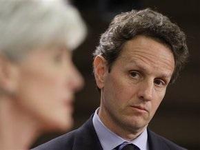 Министр финансов США едет в турне по Европе