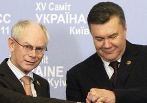 ЕК: Украинские СМИ неверно интерпретировали слова о нежелании еврочиновников видеть Азарова