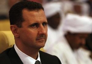 Конфликт в Сирии - Асад уверен в победе