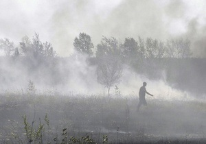 Прокуратура разберется с пожарами на киевских торфяниках