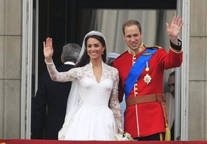 Принц Уильям и Кейт Миддлтон появились на знаменитом балконе Букингемского дворца