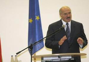 Лукашенко заявил, что не боится санкций Евросоюза