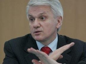 Литвин призывает  не вызывать стихию - она может снести всех