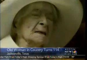 В США умерла старейшая жительница Земли