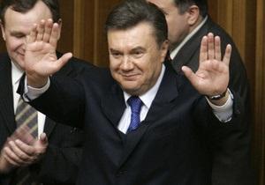 В ответ на вопрос о выборочном правосудии Янукович рассказал о реформах