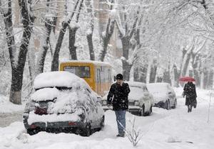 Погода в Украине - На следующей неделе в Украину вернутся морозы и метели