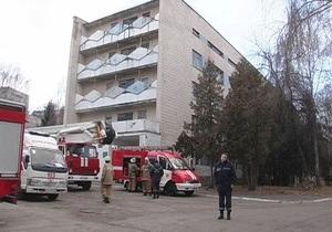 В киевской психиатрической клинике горело детское отделение