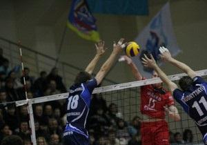 Украинский клуб пробился в четвертьфинал одной из сильнейших в мире волейбольных лиг