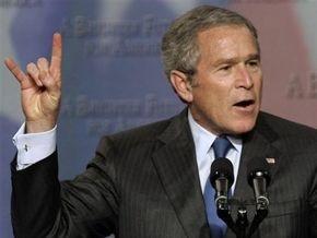 Буш поставил новый рекорд собственной непопулярности