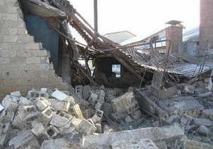 В Донецкой области на территории школы произошел взрыв: один человек погиб