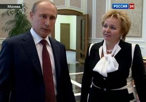 Владимир Путин развелся с женой. Интервью президента России и его жены о разводе телеканалу Россия 24