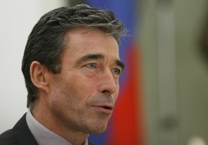 Расмуссен: Решение о вступлении Украины и Грузии в НАТО остается в силе