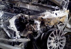 В Борисполе взрыв повредил шесть гаражей и пять автомобилей