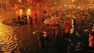 Число жертв ливневых дождей в Китае достигло 95 человек