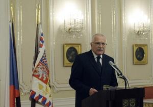 Президент Чехии во время визита в Чили украл ручку