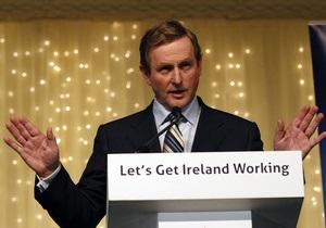 Премьер Ирландии надеется, что Дублин первым  помашет МВФ ручкой