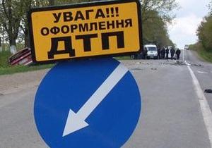 В Житомирской области из-за ДТП разлилось 24 тонны яблочного сока